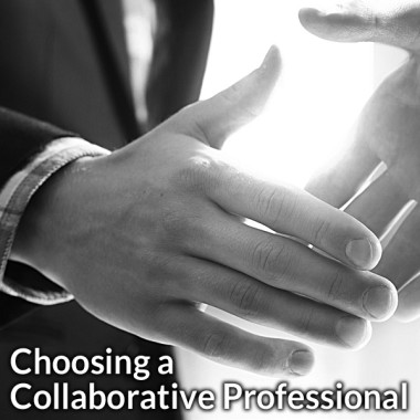 Choosing a Collaborative Professional